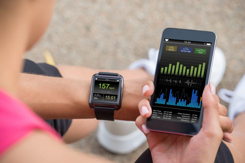 montre fitness connectée