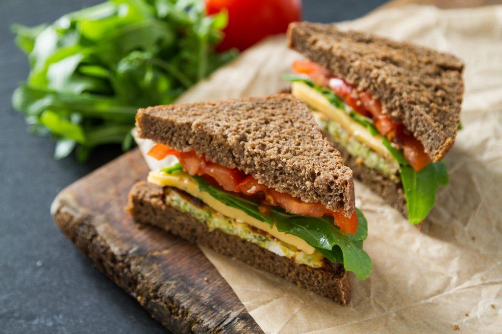 recette sandwich healthy